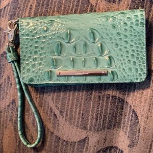 Brahmin Wristlet Genuine Leather